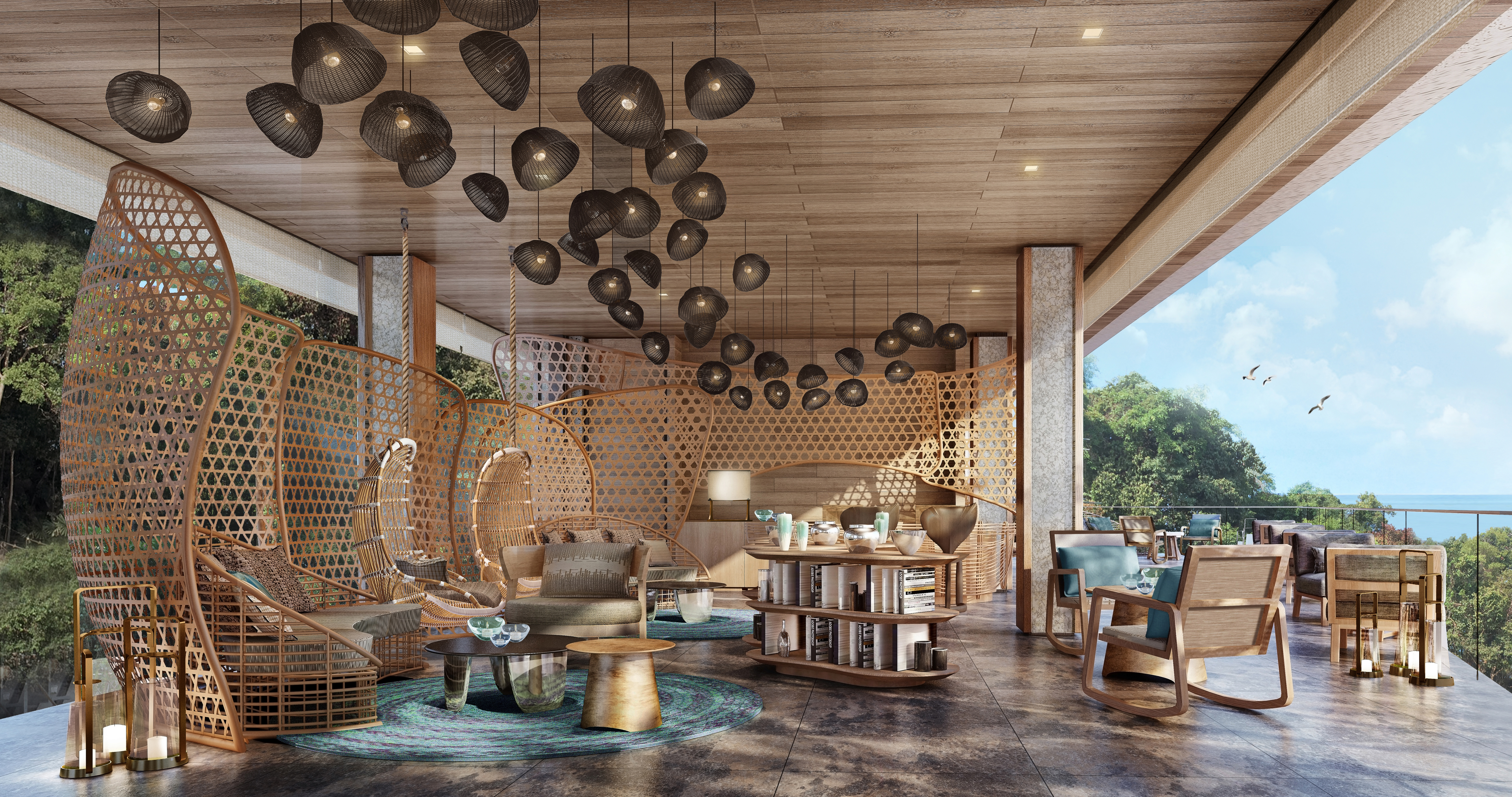 Six Senses Krabey Island - Lobby