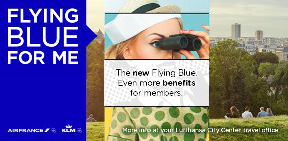 Flying Blue member benefits