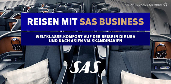 Reisen mit SAS Business